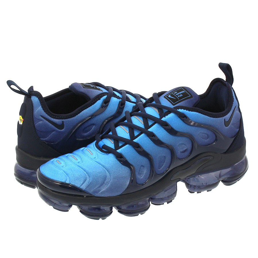 96baca1b800 NIKE AIR VAPORMAX PLUS Nike vapor max plus OBSIDIAN PHOTO BLUE BLACK