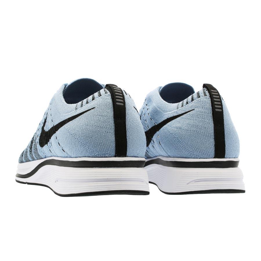85b7ea991ee93 sale nike flyknit trainer nike fried food knit racer cirrus blue white black  181d2 fae74