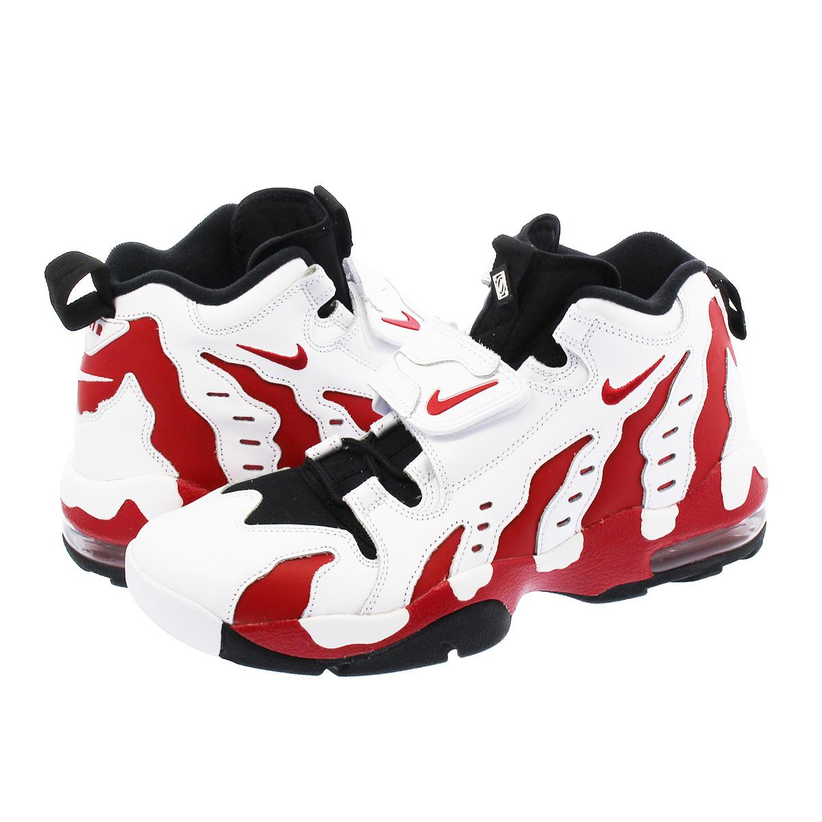 Nike Air DT Max '96 WhiteVarsity Red Black 316408 161