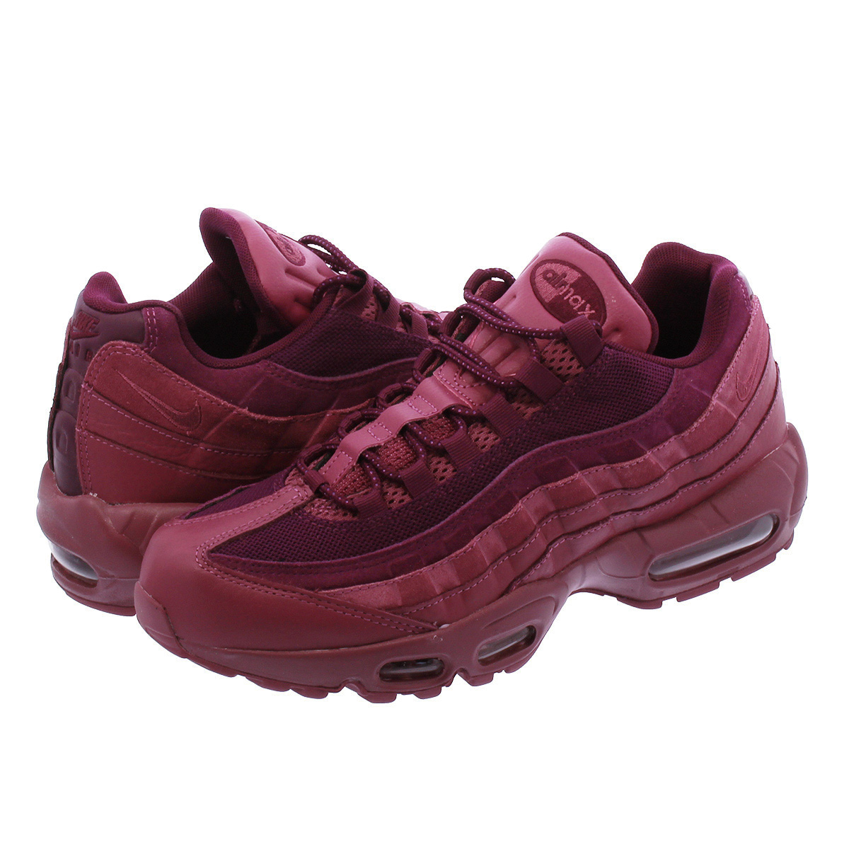 sports shoes d8440 3c86d NIKE AIR MAX 95 PREMIUM Kie Ney AMAX 95 premium VINTAGE WINEBORDEAUX