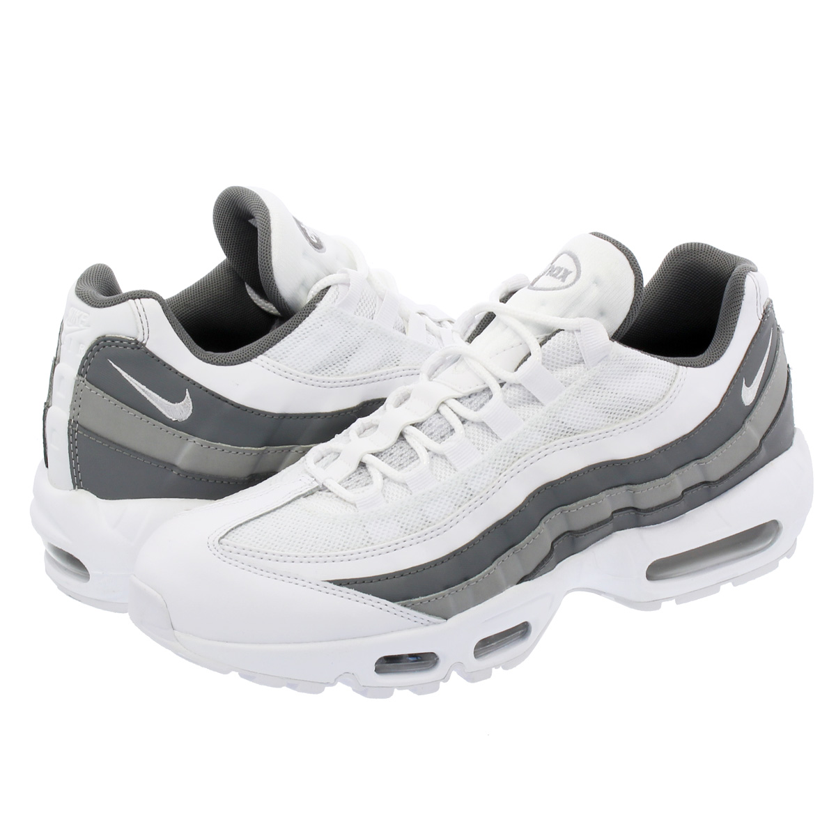 3fa5ba180136 SELECT SHOP LOWTEX  NIKE AIR MAX 95 ESSENTIAL Kie Ney AMAX 95 essential  WHITE COOL GREY WOLF GREY