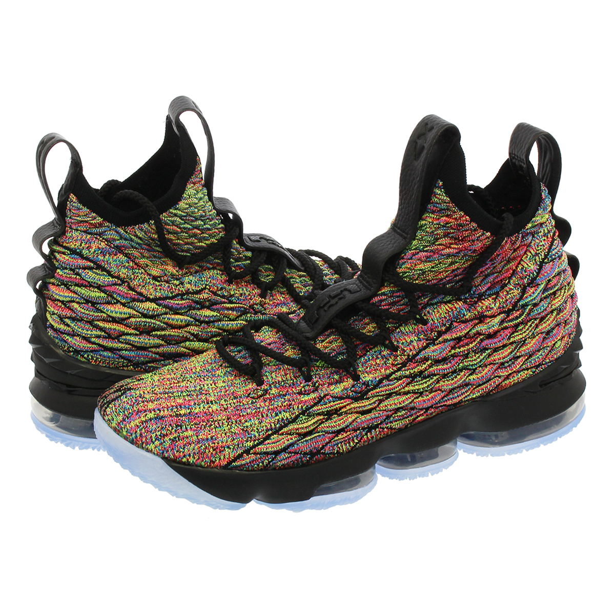 competitive price 1d8f6 ad483 NIKE LEBRON 15 Nike Revlon 15 BLACK/MULTI COLOR