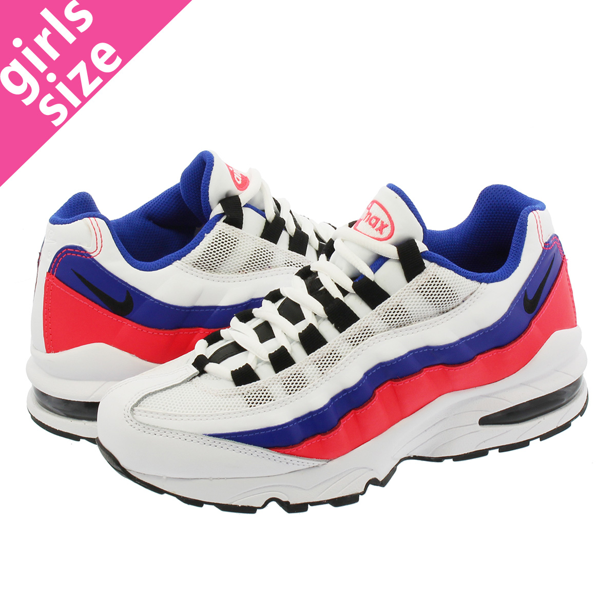3796ef744da4ac SELECT SHOP LOWTEX  AIR MAX 95 GS Kie Ney AMAX 95 GS WHITE ULTRA  MARINE SOLAR RED