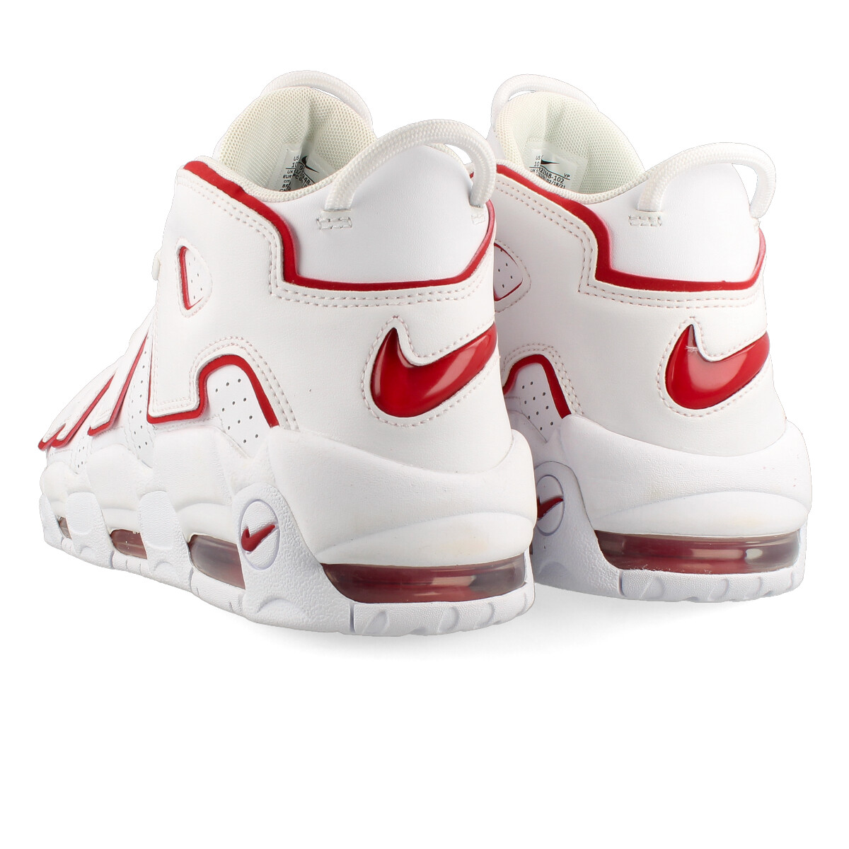 44ba8b29ec18 ... NIKE AIR MORE UPTEMPO 96 Nike more up tempo 96 WHITE/VARSITY RED/WHITE  ...
