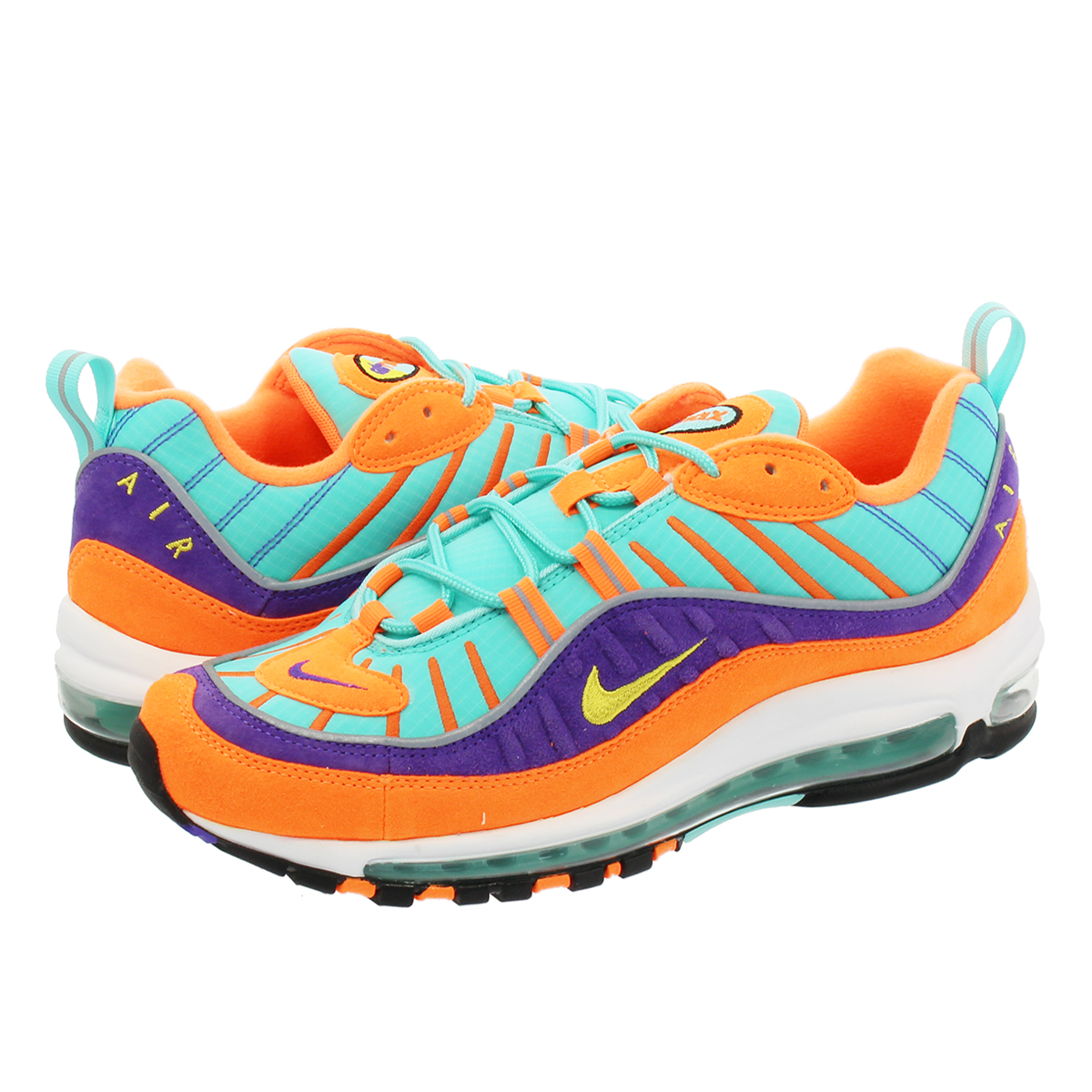 separation shoes bce20 7ed7f NIKE AIR MAX 98 QS Kie Ney AMAX 98 QS CONE TOUR YELLOW HYPER GRAPE 924,462- 800