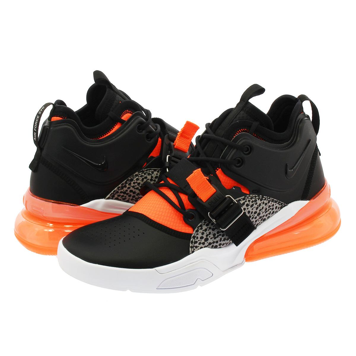 sports shoes f67a7 794fa NIKE AIR FORCE 270 Nike air force 270 BLACK HYPER CRIMSON WOLF GREY WHITE