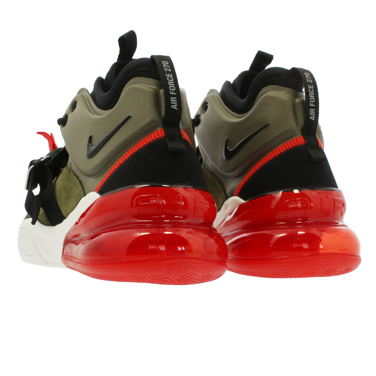 5f2158179 ... NIKE AIR FORCE 270 Nike air force 270 MEDIUM OLIVE/BLACK/CHALLENGE RED/  ...