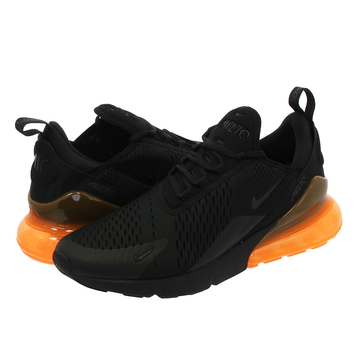 22b6333fae1d NIKE AIR MAX 270 Kie Ney AMAX 270 BLACK TOTAL ORANGE