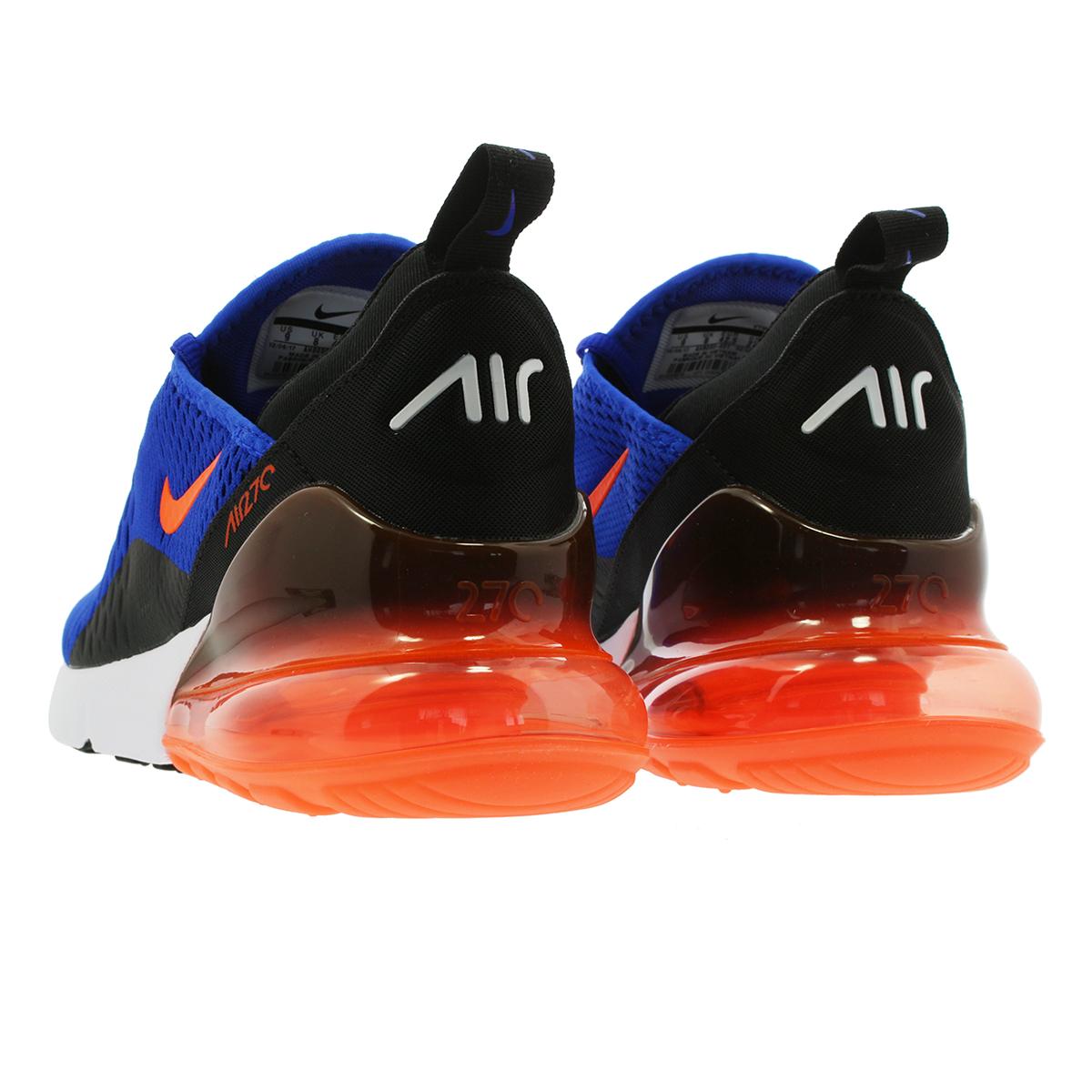 496a026b09 Men's Shoes Athletic Shoes Nike Air Max 270 Racer Blue Hyper Crimson Black  Mens Trainers AH8050-401