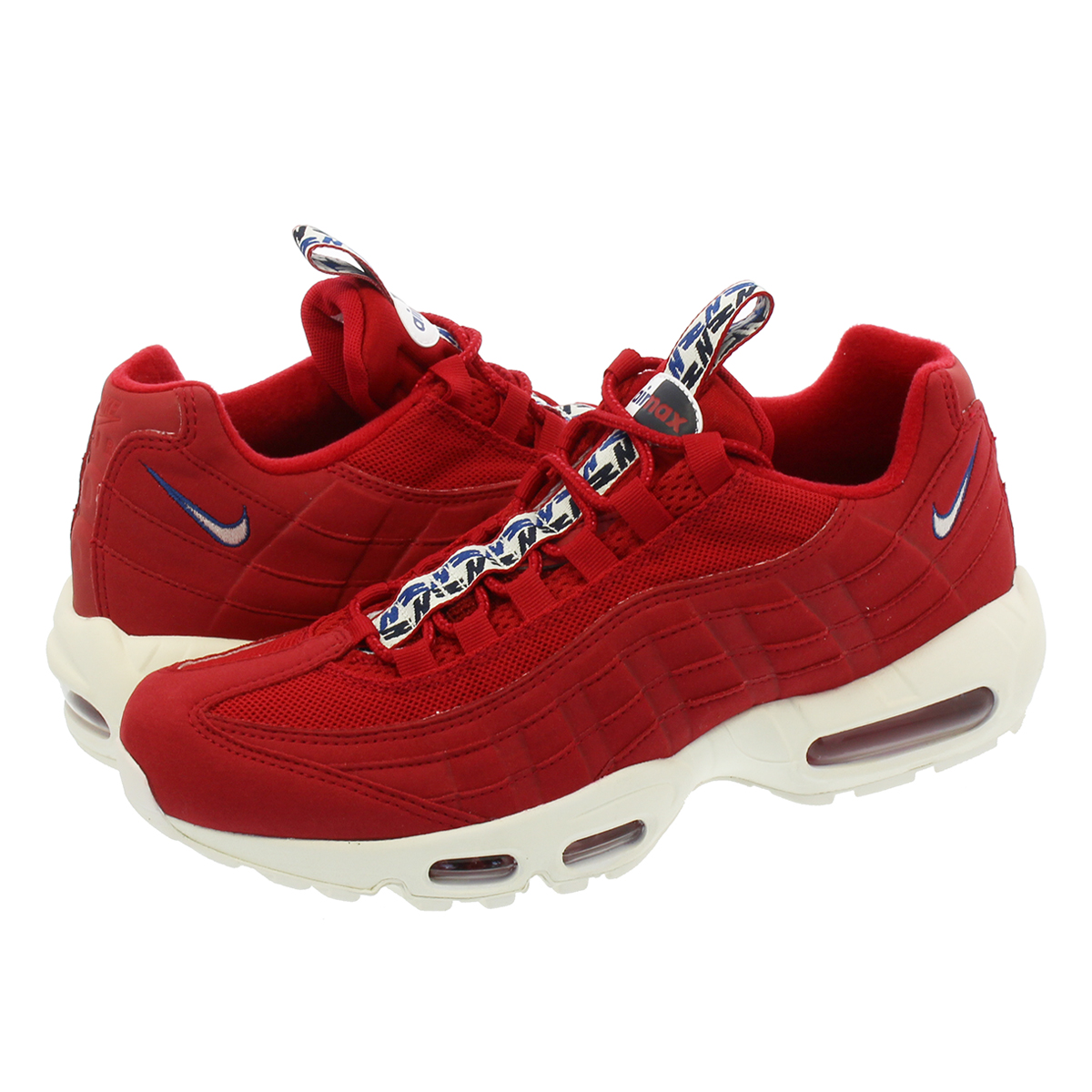 NIKE AIR MAX 95 TT ナイキ エア マックス 95 TT GYM RED/SAIL/GYM BLUE aj1844-600