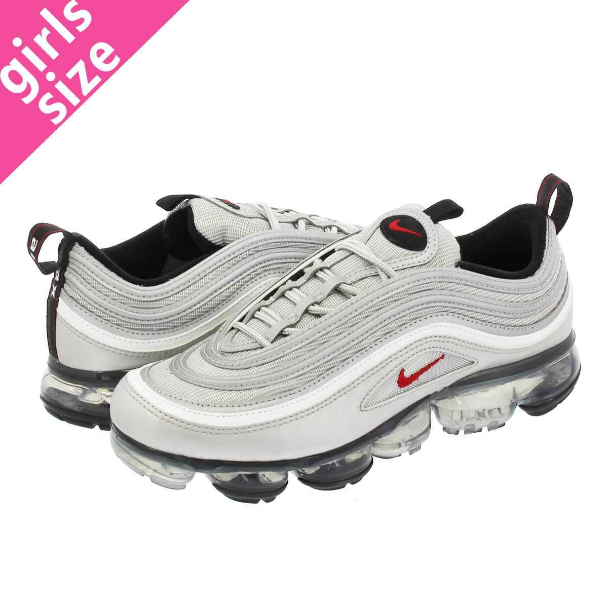 new style 9d93c e56d2 NIKE AIR VAPORMAX 97 Nike air vapor max 97 METALLIC SILVER/VARSITY  RED/WHITE/BLACK aj7291-002-l