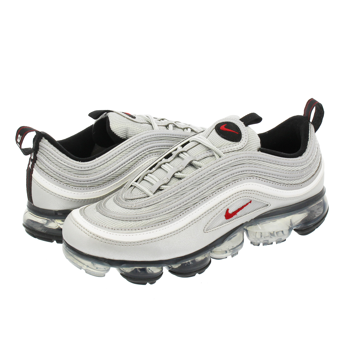 NIKE AIR VAPORMAX 97 ナイキ エア ヴェイパー マックス 97 METALLIC SILVER/VARSITY RED/WHITE/BLACK aj7291-002