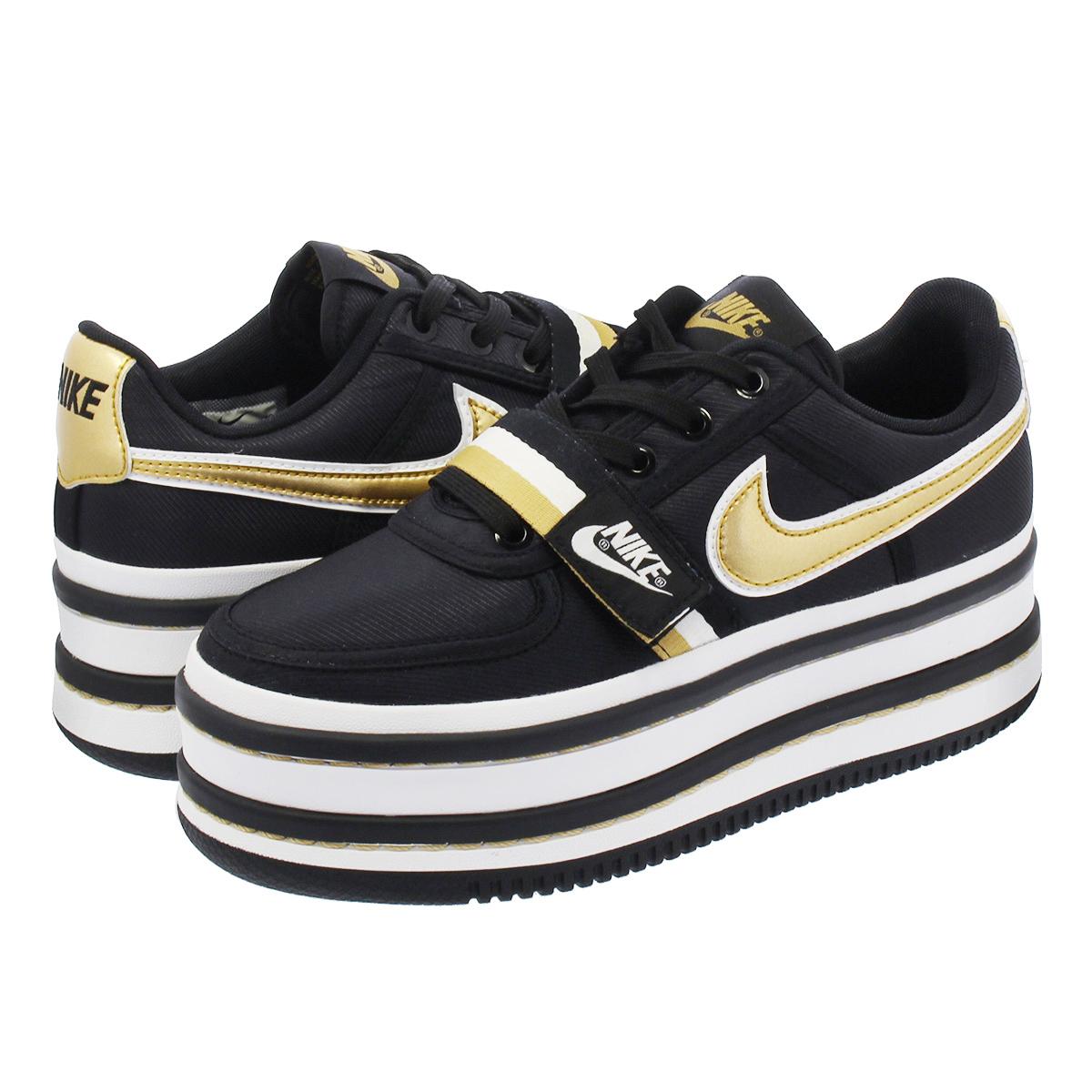 771fa8e91d02 NIKE WMNS VANDAL 2K Nike women Vandal 2K BLACK METALLIC GOLD ao2868-002