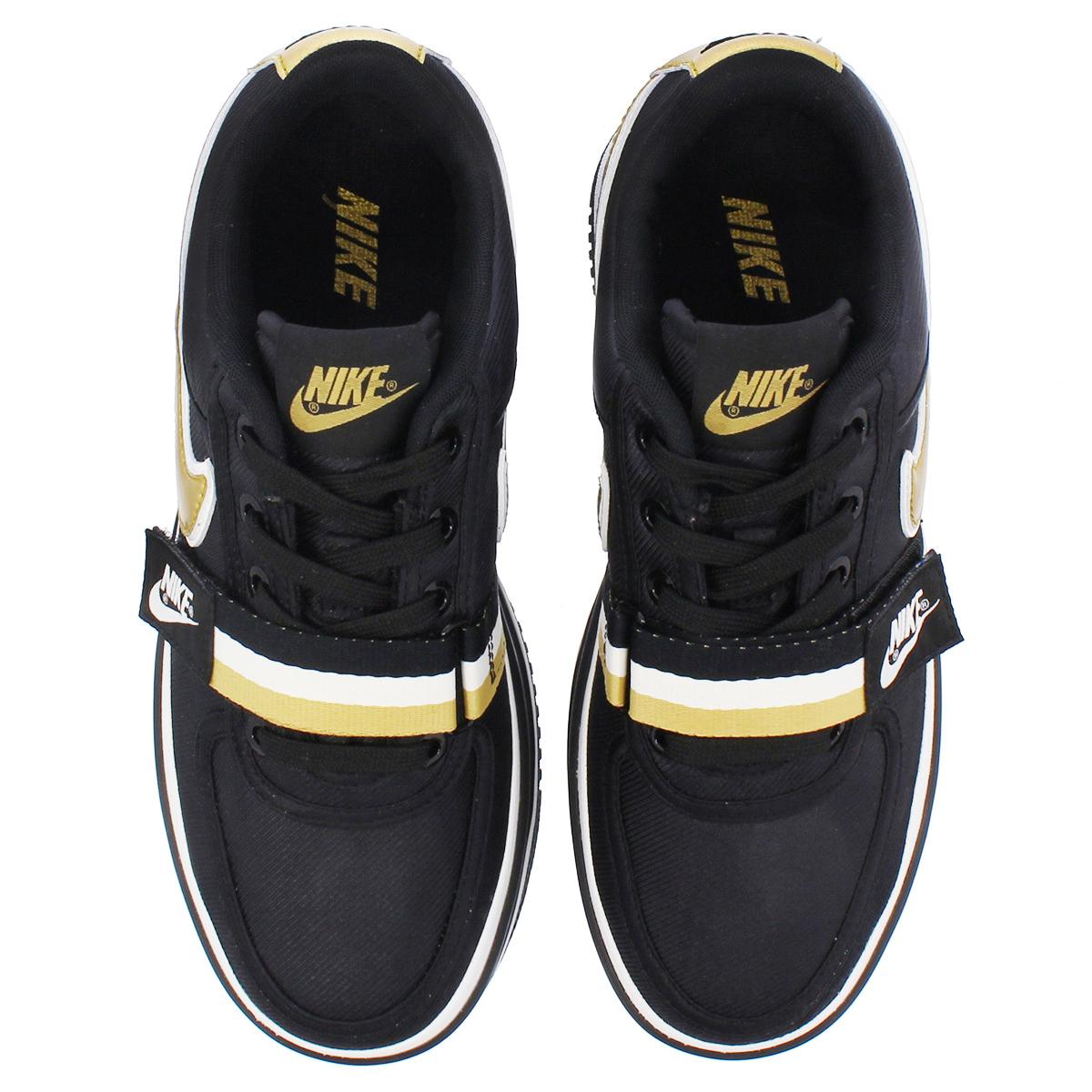 17aa7267038 NIKE WMNS VANDAL 2K Nike women Vandal 2K BLACK METALLIC GOLD ao2868-002