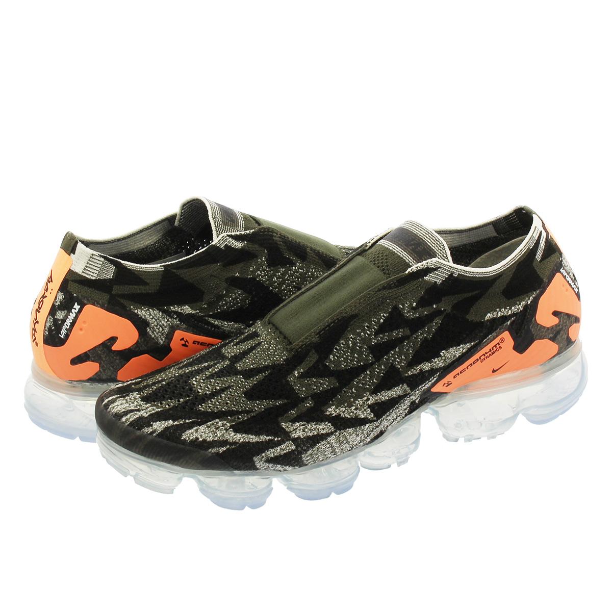 sneakers for cheap 69ada 81a3a NIKE X ACRONYM AIR VAPORMAX MOC 2 Nike X アクロニウムエアヴェイパーマックスモック 2 SAIL CARGO  KHAKI DARK STUCCO aq0996-102