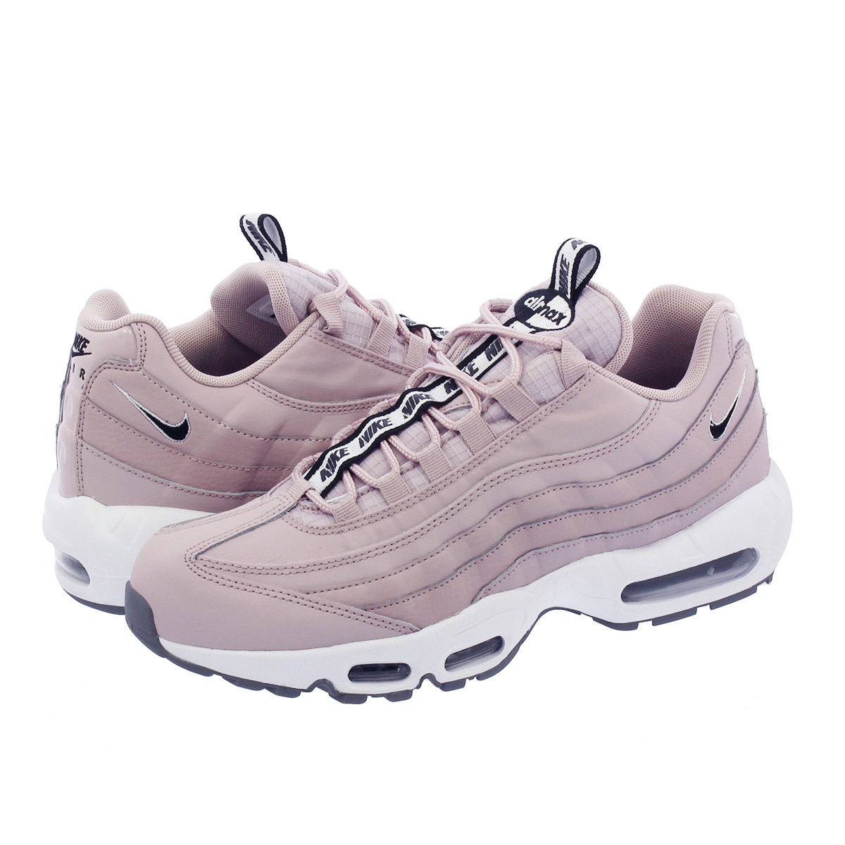 online store 0df0a 5e9be NIKE AIR MAX 95 SE Kie Ney AMAX 95 SE PARTICLE ROSE/WHITE/COOL GREY/BLACK  aq4129-600