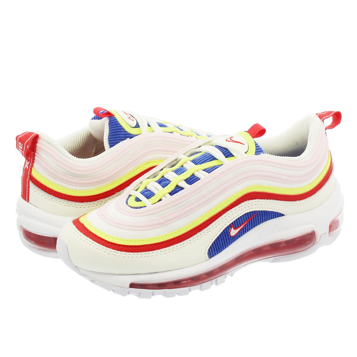 f1f4878ec61c90 NIKE WMNS AIR MAX 97 SE Nike women Air Max 97 SE SAIL ARCTIC PINK VOLT GLOW