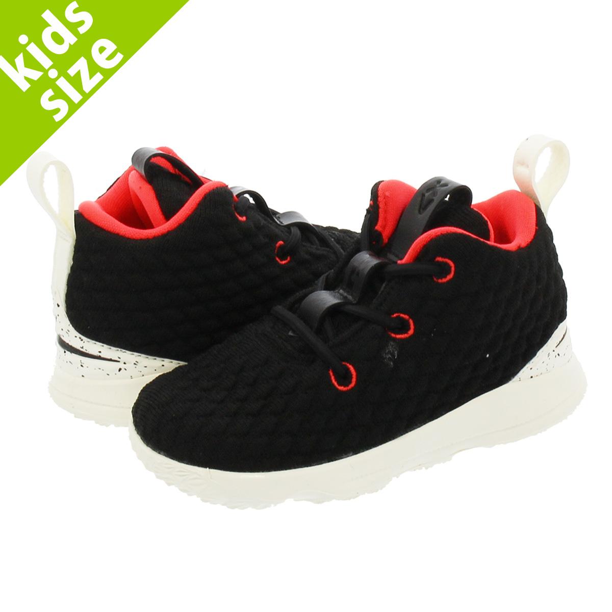 f4010cc9d8e NIKE LEBRON 15 TD Nike Revlon 15 TD BLACK SAIL BRIGHT CRIMSON aq6178-002
