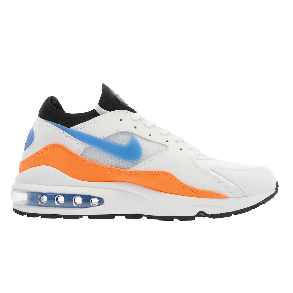 edf51fbaf60 NIKE AIR MAX 93 Kie Ney AMAX 93 WHITE BLUE NEBULA TOTAL ORANGE BLACK  306