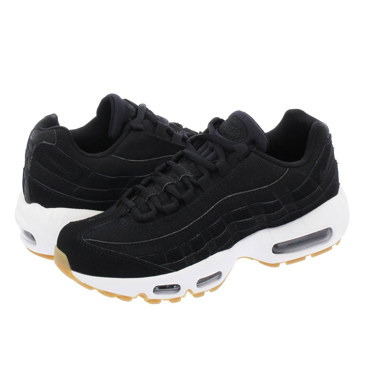 quality design 4d247 3ba67 NIKE WMNS AIR MAX 95 Nike women Air Max 95 BLACK/ANTHRACITE/GUM LIGHT BROWN  307,960-017