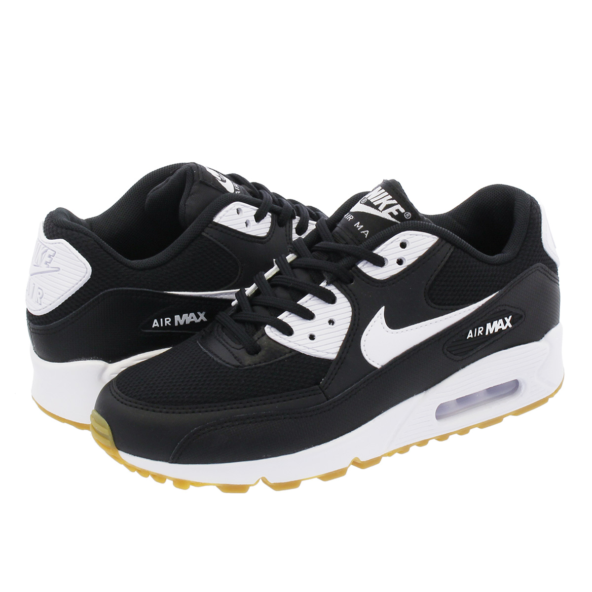 NIKE WMNS AIR MAX 90 ナイキ ウィメンズ エア マックス 90 BLACK/WHITE/GUM LIGHT BROWN 325213-055