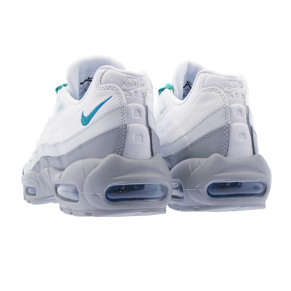 big sale 3e8b7 ee344 NIKE AIR MAX 95 ESSENTIAL Kie Ney AMAX 95 essential LIGHT PUMICECLEAR  EMERALDWHITE 749,766-032