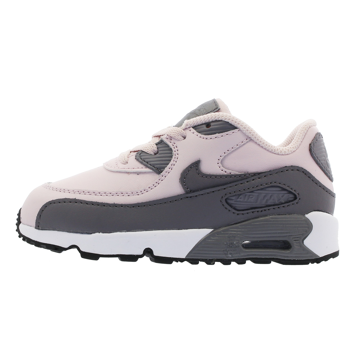 NIKE AIR MAX 90 LTR TD Kie Ney AMAX 90 leather TD BARELY ROSEGREY 833,379 601