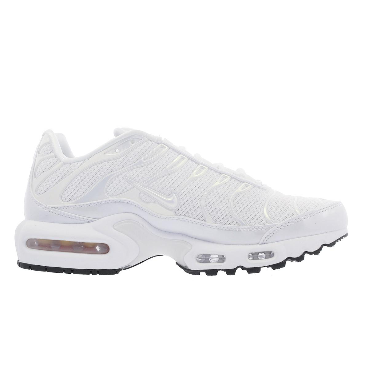 aa0949d53d ... NIKE WMNS AIR MAX PLUS PREMIUM Nike women Air Max plus premium WHITE/ WHITE/ ...