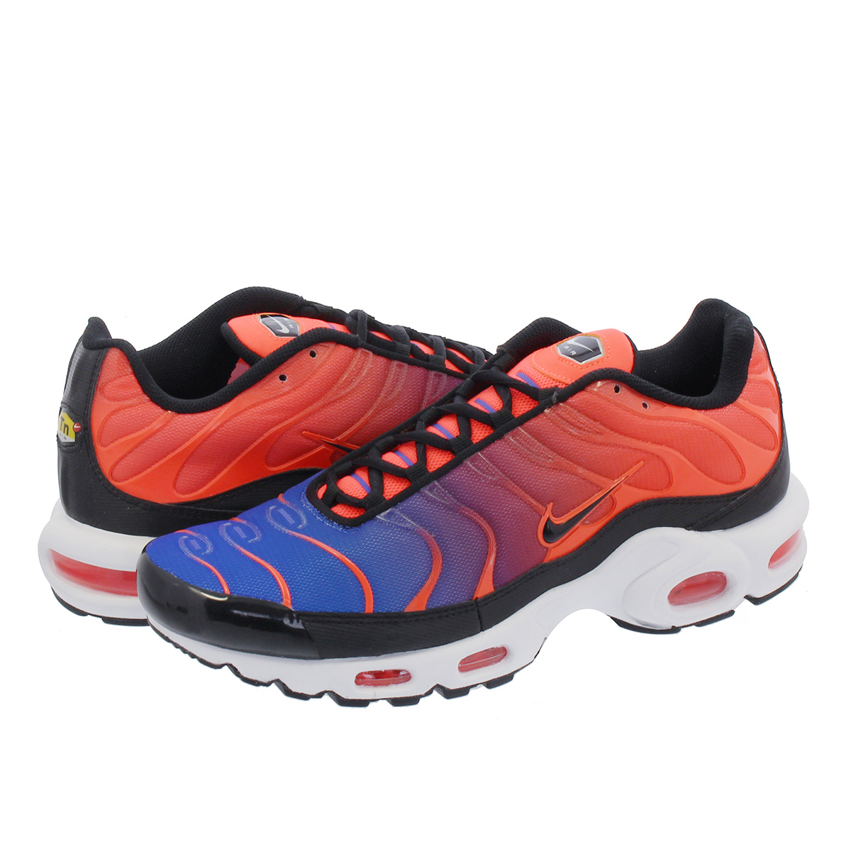 new product 944cb 3001d NIKE AIR MAX PLUS Kie Ney AMAX plus CRIMSON/RACER BLUE/WHITE/BLACK  852,630-800