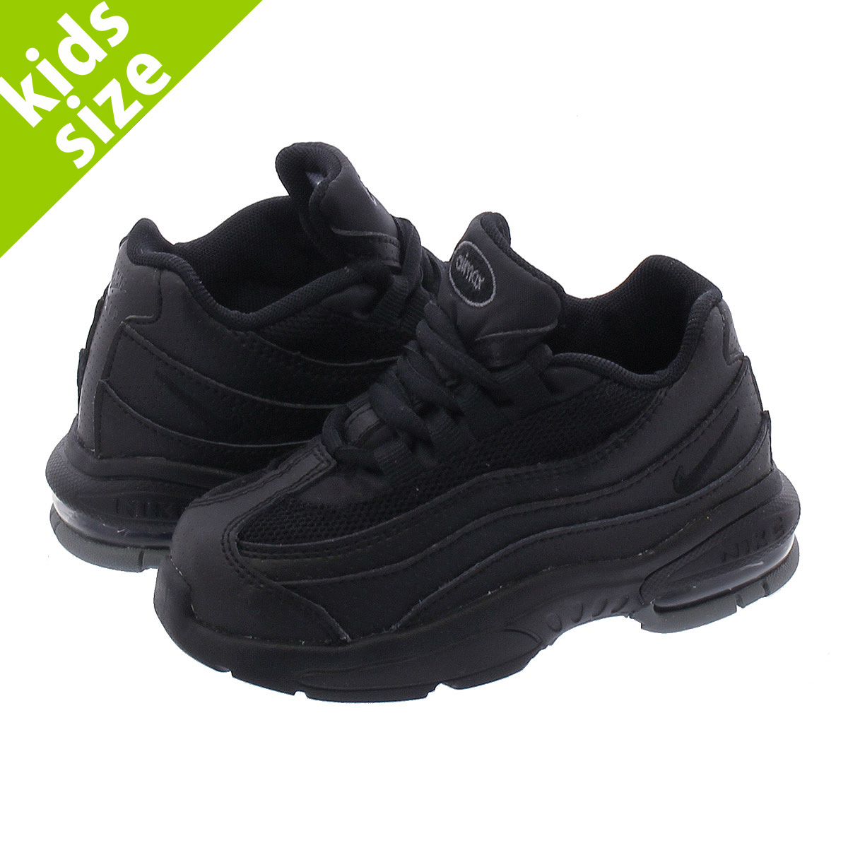 uk availability 4b67c 98191 NIKE AIR MAX 95 TD Kie Ney AMAX 95 TD BLACK/DARK GREY/COOL GREY 905,462-019