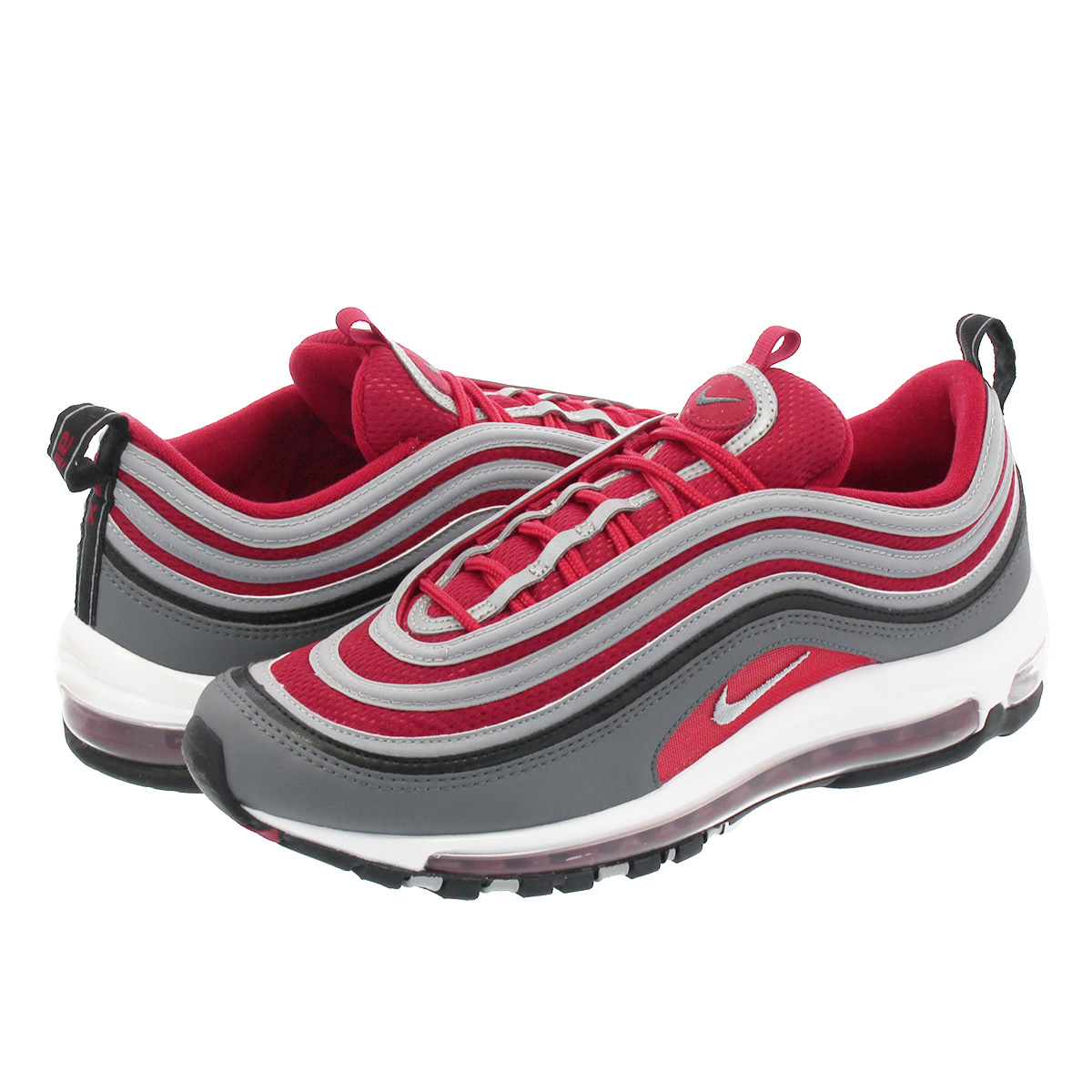 on sale 47f0d 05785 NIKE AIR MAX 97 Kie Ney AMAX 97 DARK GREY WOLF GREY GYM RED ...