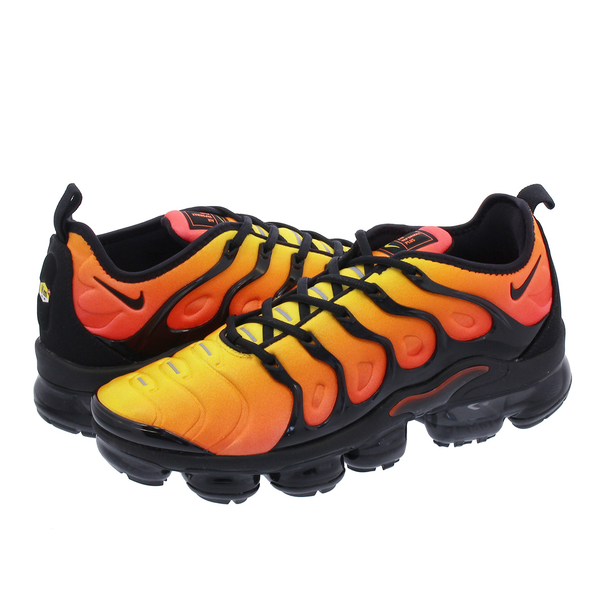 on sale 1044a 05e0c NIKE AIR VAPORMAX PLUS Nike vapor max plus TOTAL ORANGE/BLACK/TOTAL  CRIMSON/SUNSET 924,453-006
