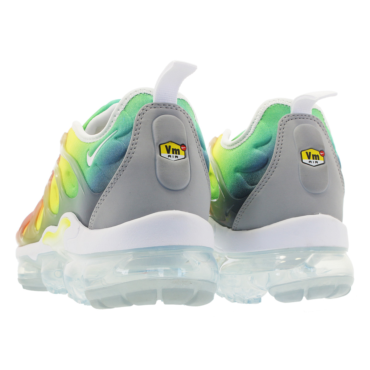 new product 7186e db1df air vapormax plus white yellow