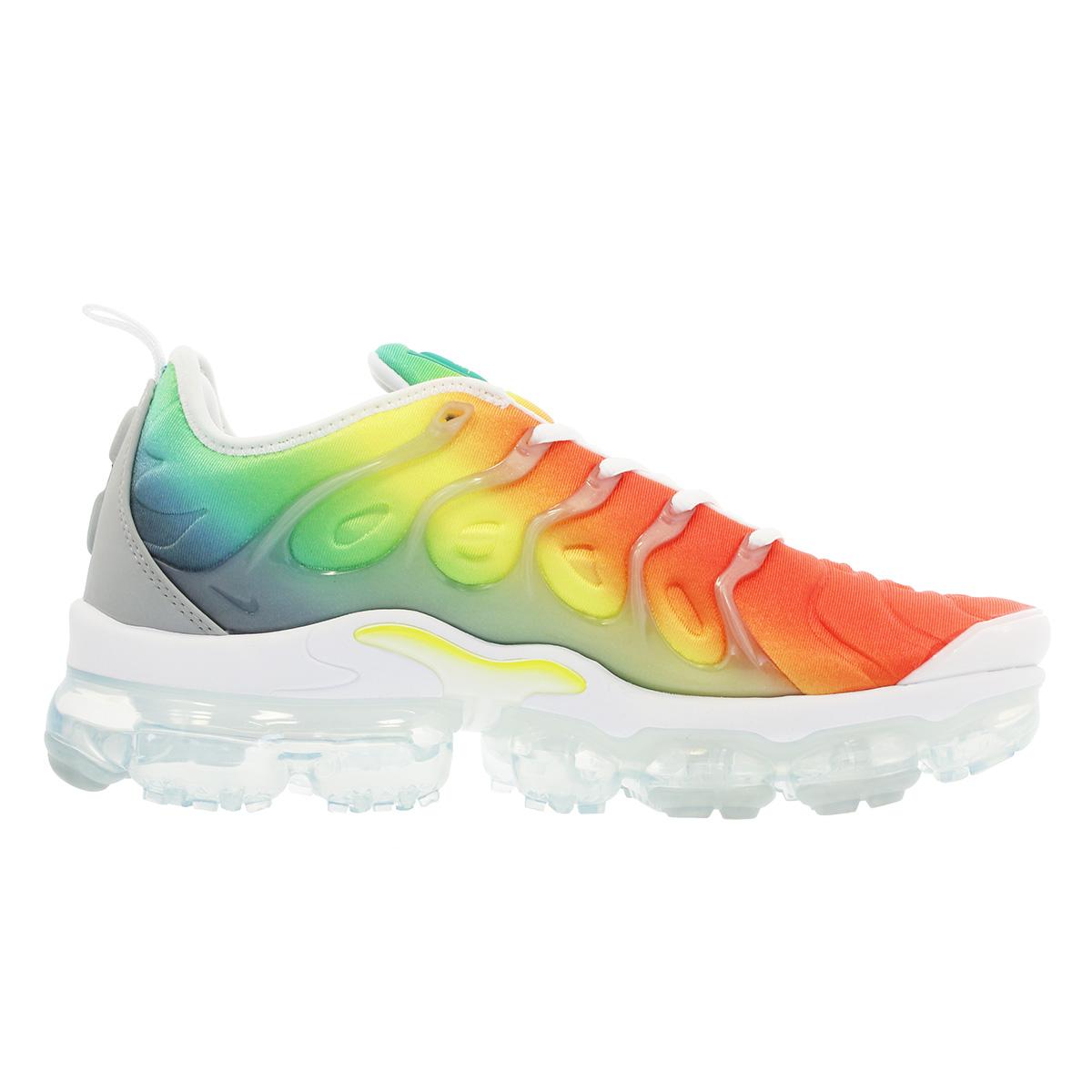 NIKE AIR VAPORMAX PLUS Nike vapor max plus WHITE/NEPTUNE GREEN/DYNAMIC  YELLOW 924,453-103