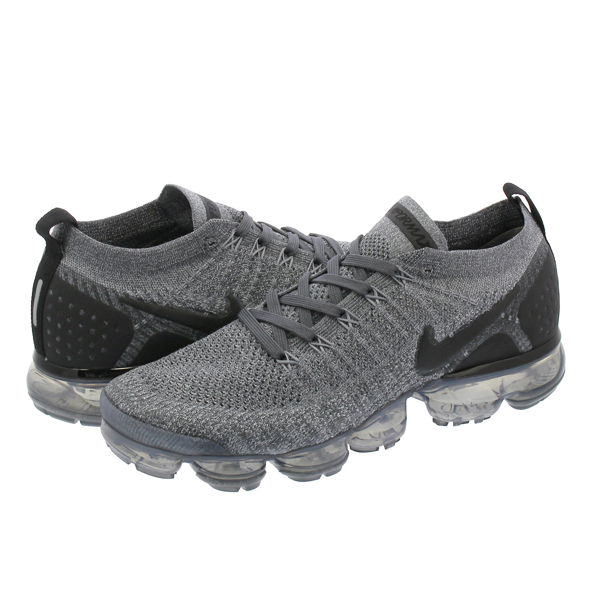 low priced c8bcf 33747 NIKE AIR VAPORMAX FLYKNIT 2 Nike vapor max fried food knit 2 DARK  GREY/WHITE/WOLF GREY/BLACK 942,842-002