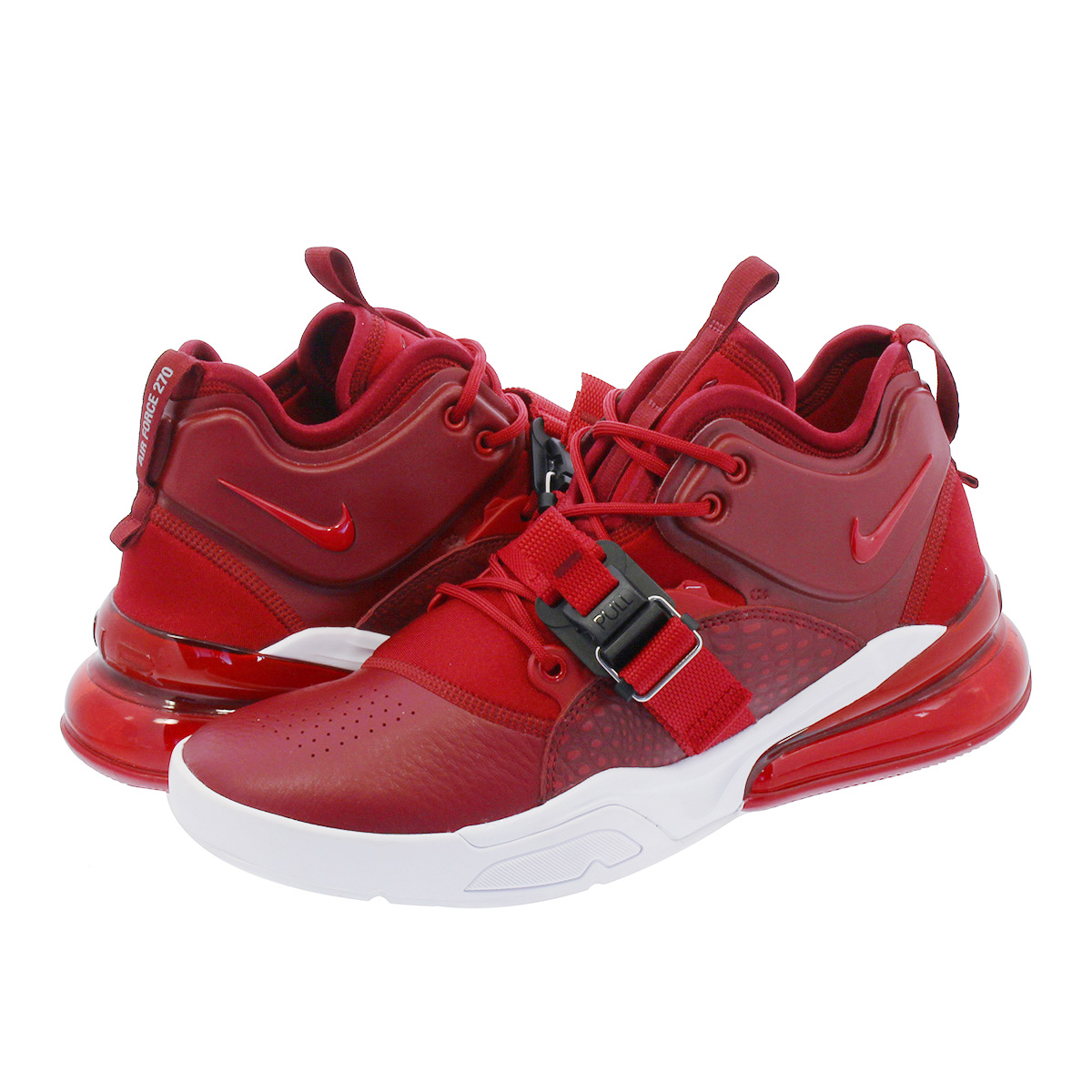 NIKE AIR FORCE 270 ナイキ エア フォース 270 TEAM RED/GYM RED ah6772-600
