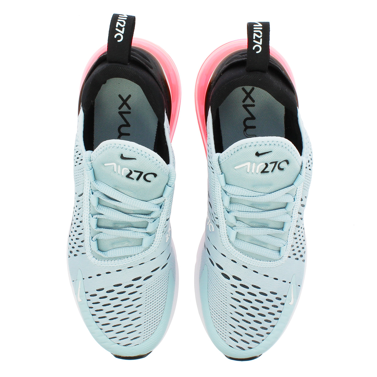 newest 8dd89 0454e ... NIKE WMNS AIR MAX 270 Nike women Air Max 270 OCEAN BLISS/WHITE/BLACK ...