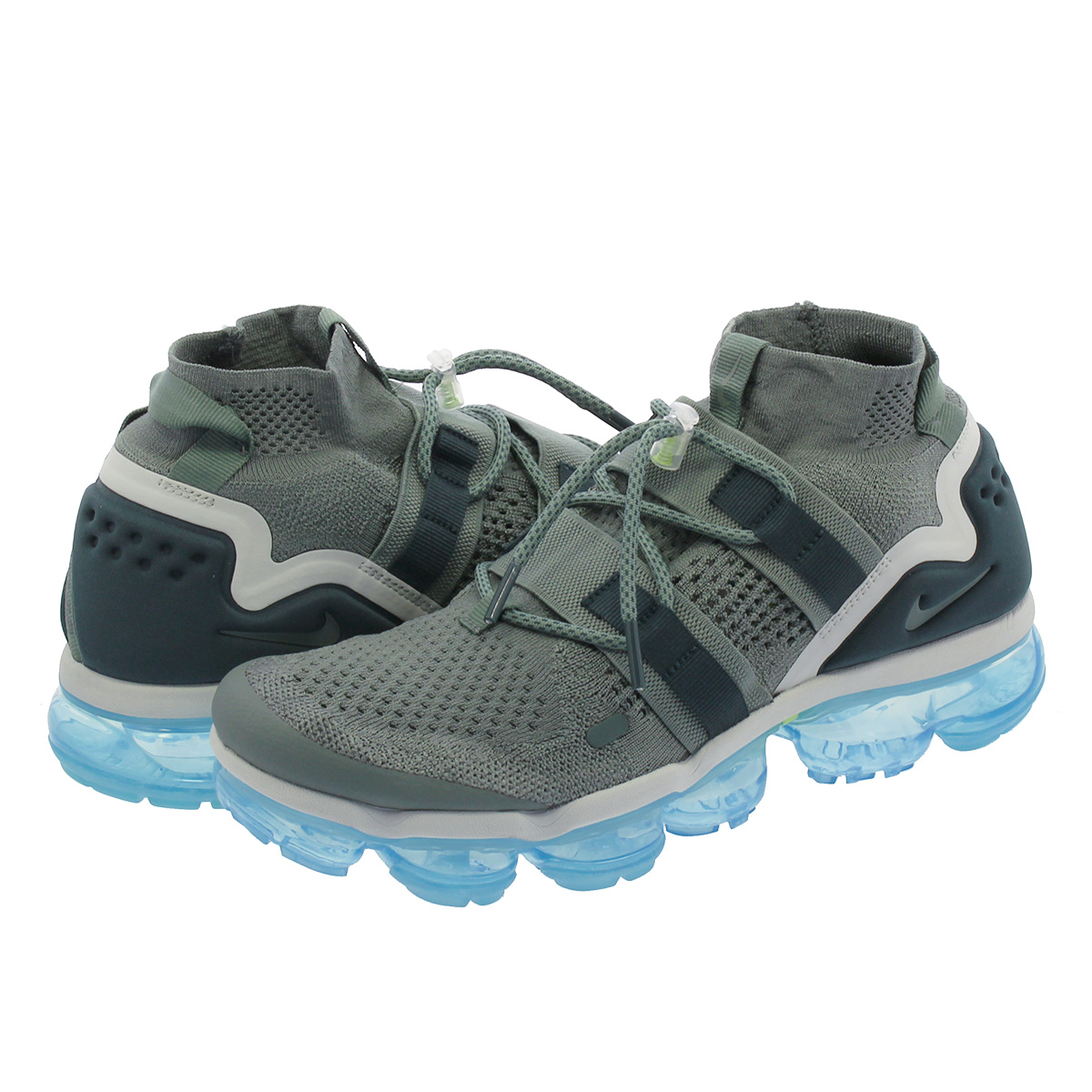 NIKE AIR VAPORMAX FLYKNIT UTILITY ナイキ ヴェイパー マックス フライニット ユーティリティー GREEN/FADED SPRUCE/BARELY ah6834-300