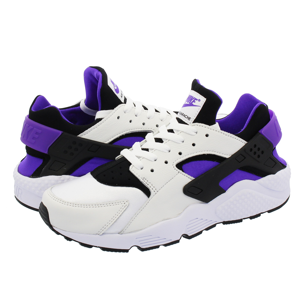 ffe337d45257ae NIKE AIR HUARACHE RUN  91 QS ナイキエアハラチラン 91 QS BLACK PURPLE PUNCH BLACK WHITE  ah8049-001