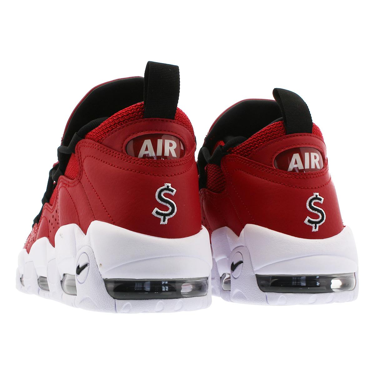 6ec460cb717fc2 SELECT SHOP LOWTEX  NIKE AIR MORE MONEY Nike air more money GYM RED ...