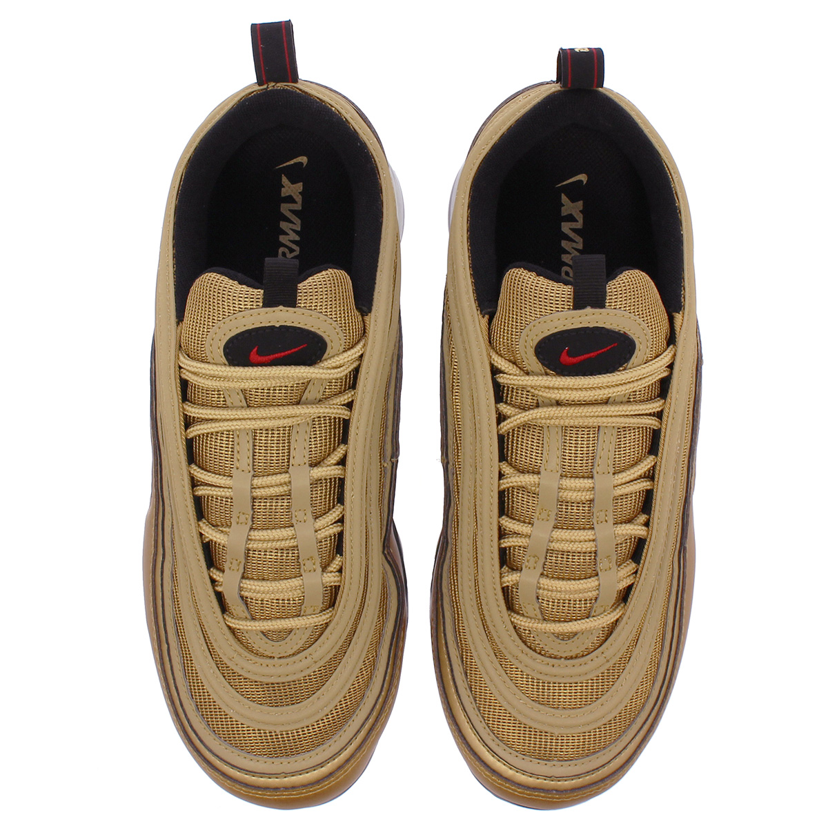 410328491d9 NIKE AIR VAPORMAX 97 Nike air vapor max 97 METALLIC GOLD VARSITY RED BLACK WHITE  aj7291-700