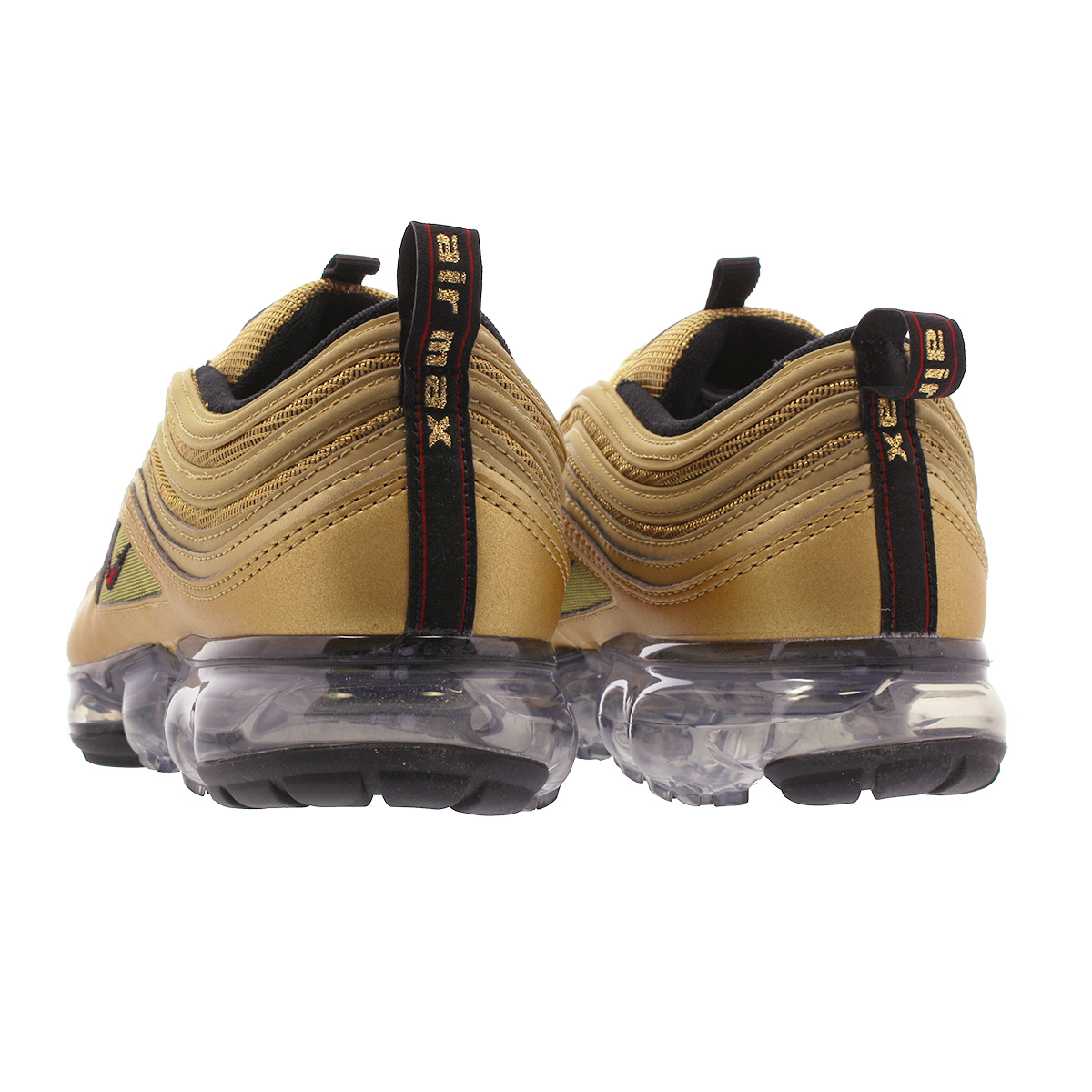 f0a45c13e6f8f NIKE AIR VAPORMAX 97 Nike air vapor max 97 METALLIC GOLD VARSITY RED BLACK WHITE  aj7291-700