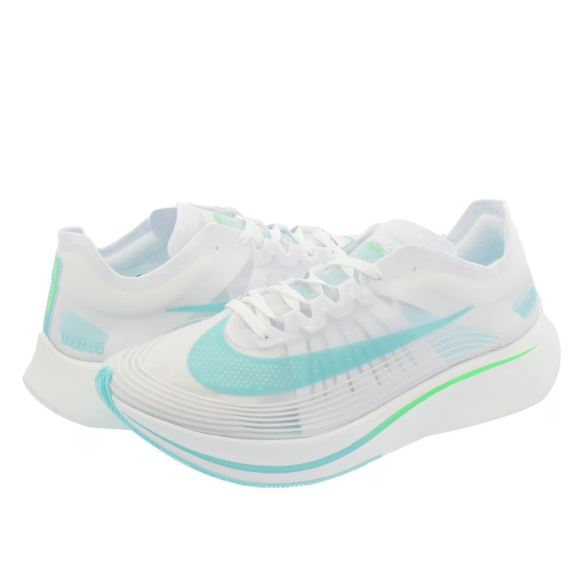 newest 7e950 e0eb9 NIKE ZOOM FLY SP Nike zoom fly SP WHITERAGE GREENSUMMIT WHITE aj9282-103