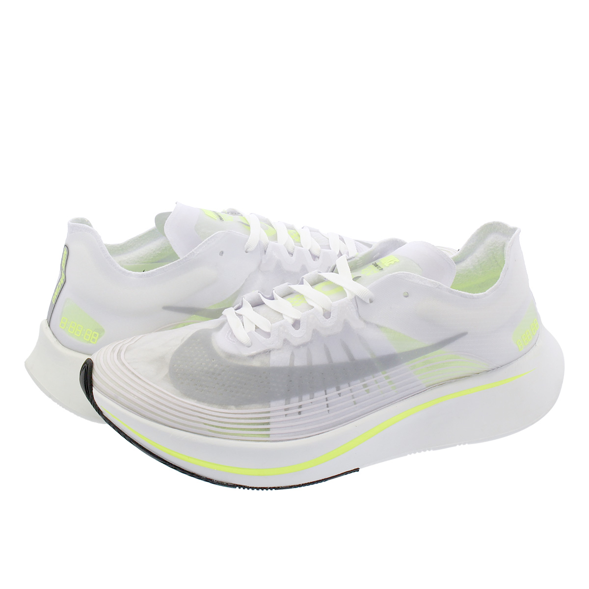 NIKE ZOOM FLY SP ナイキ ズーム フライ SP WHITE/VOLT GLOW/SUMMIT WHITE aj9282-107
