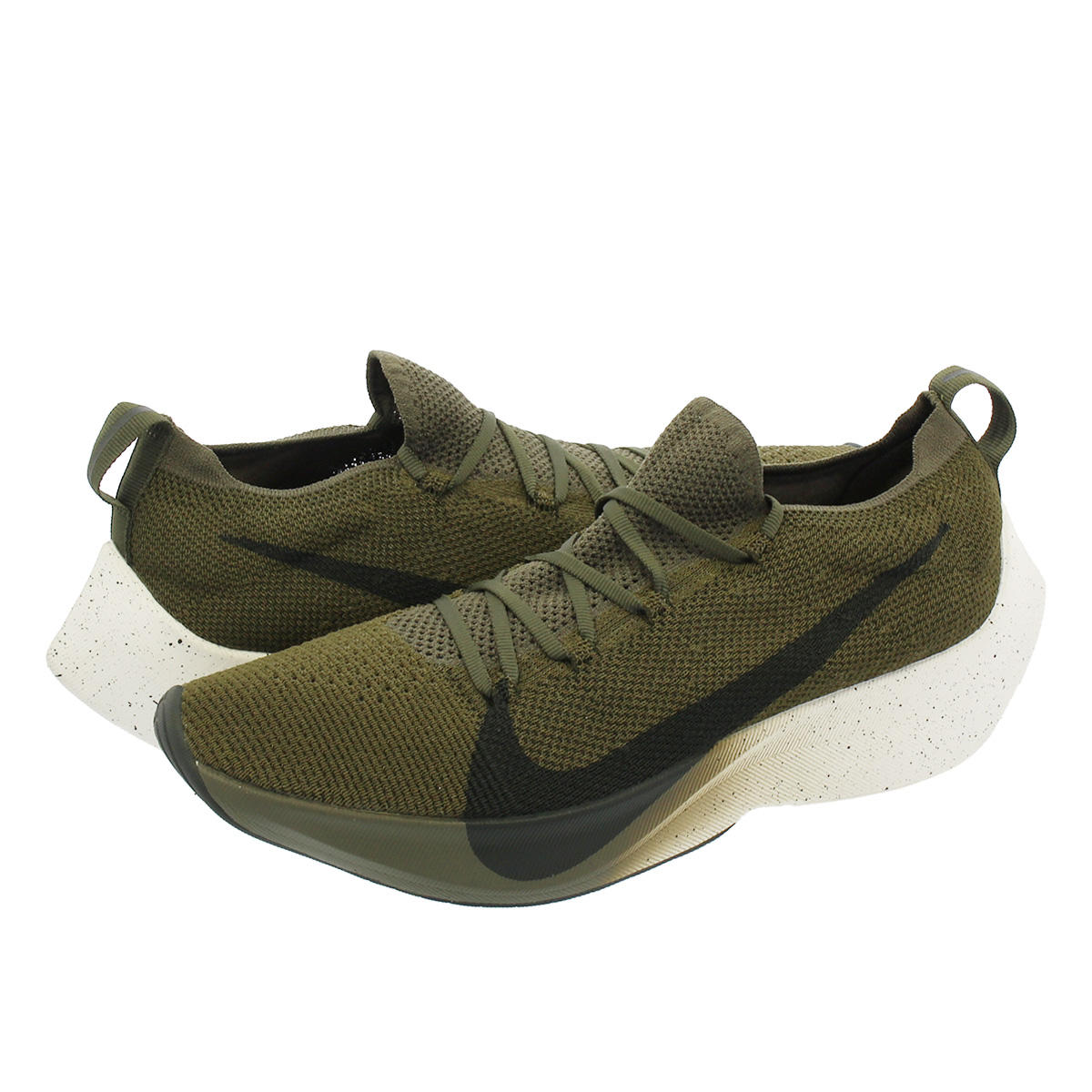 c8580967a328 NIKE VAPOR STREET FLYKNIT Nike vapor street fried food knit MEDIUM OLIVE  SEQUOIA SAIL aq1763-201