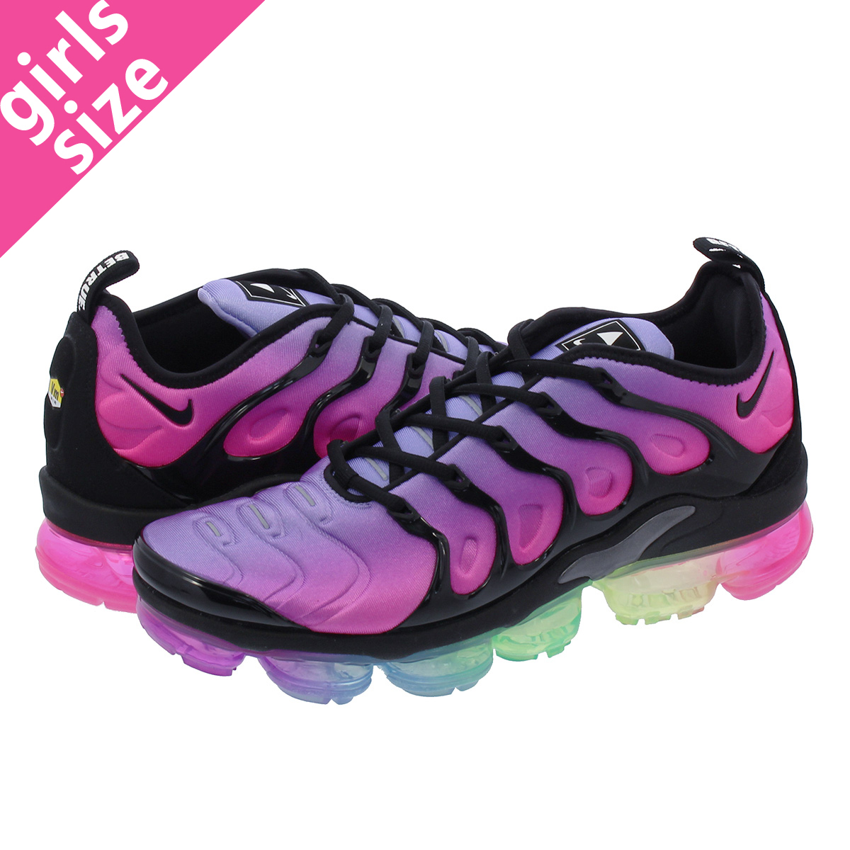 differently 27818 5d018 NIKE AIR VAPORMAX PLUS Nike vapor max plus PURPLE PULSE/PINK BLAST/MULTI  COLOR/BLACK ar4791-500