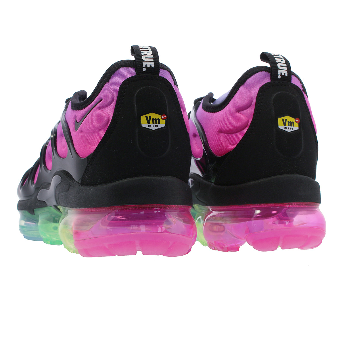 differently 67f6a 1ffa8 NIKE AIR VAPORMAX PLUS Nike vapor max plus PURPLE PULSE/PINK BLAST/MULTI  COLOR/BLACK ar4791-500
