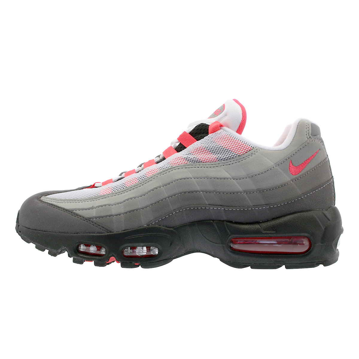 sports shoes 90cbe 3e399 ... NIKE AIR MAX 95 OG Kie Ney AMAX 95 OG WHITE SOLAR RED GRANITE ...