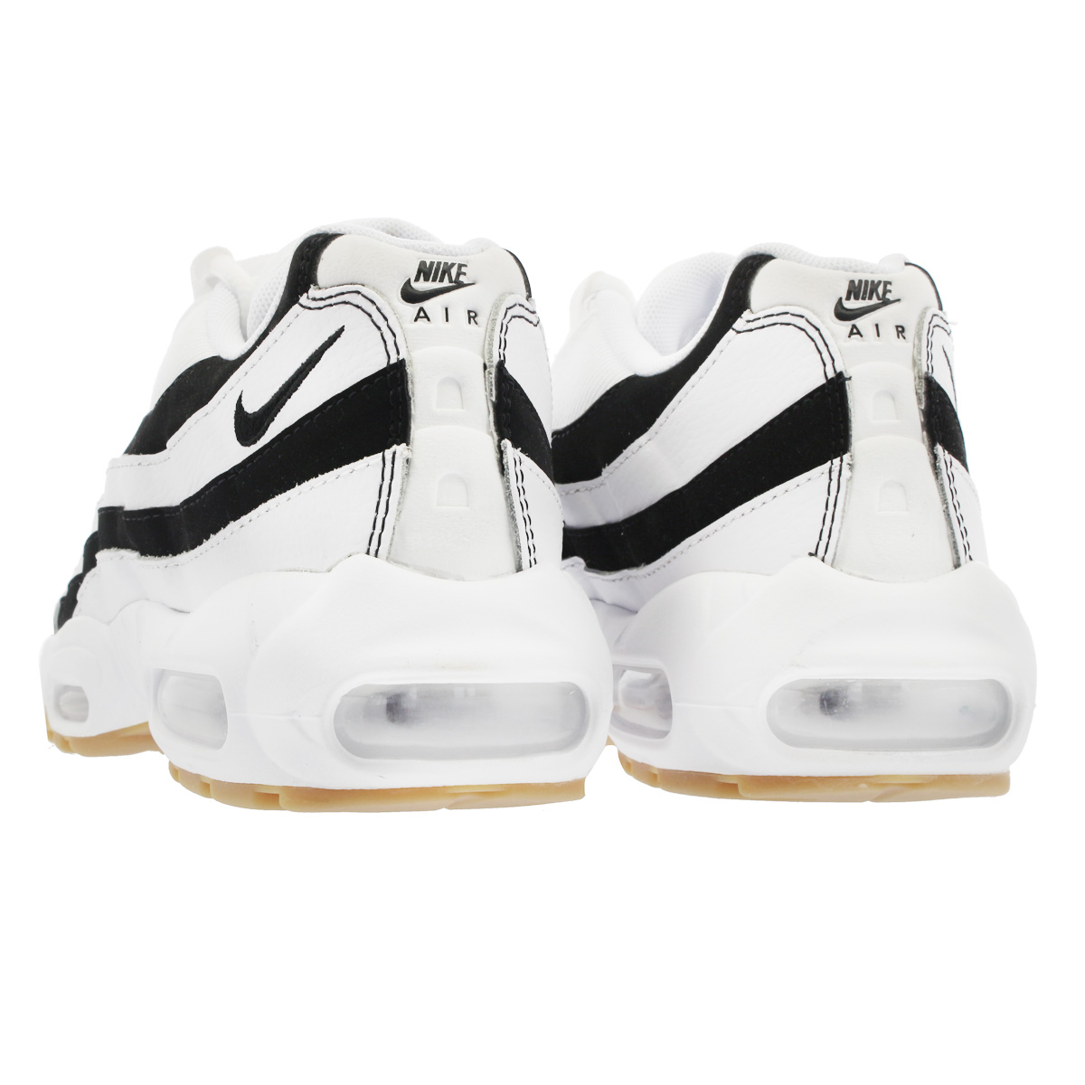 712e3a443c5 NIKE WMNS AIR MAX 95 Nike women Air Max 95 WHITE GUM LIGHT BROWN BLACK  307