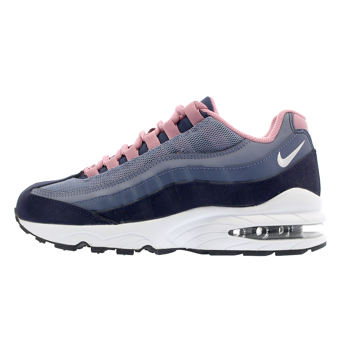 best service 9b8c4 42368 ... low cost nike air max 95 le gs kie ney amax 95 leather gs navy blue